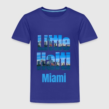 Afro Little Haiti Miami, Caribbean Style Little Haiti USA Country Tourist Gifts - Toddler Premium T-Shirt