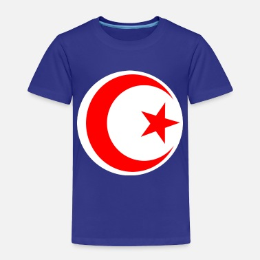 Bandera Tunisia - Toddler Premium T-Shirt