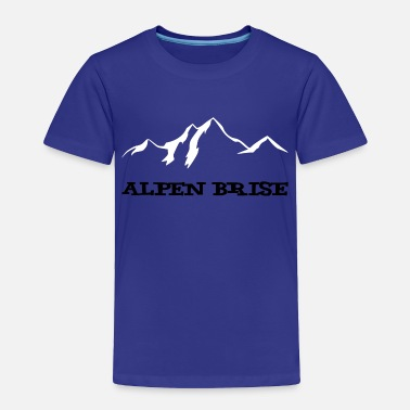 Alps Mountains Alps Breeze Mountains / Mountain Air - Toddler Premium T-Shirt