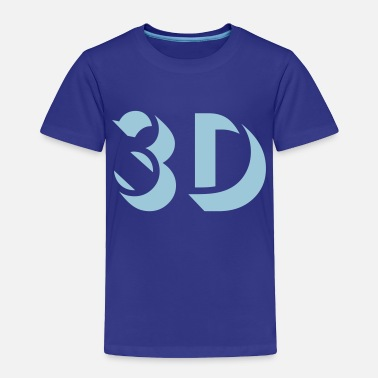 3d 3D - Toddler Premium T-Shirt