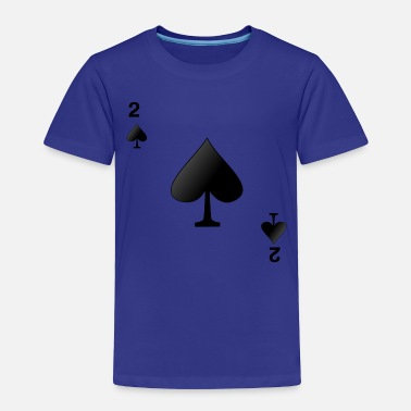 Ace Of Spades Two 0f spades - Toddler Premium T-Shirt