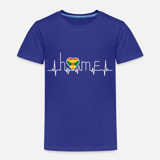 Love Baby Clothing - i love home heimat Grenada - Toddler Premium T-Shirt royal blue