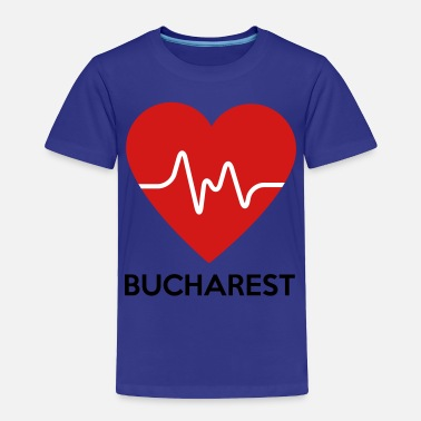 Bucharest Heart Bucharest - Toddler Premium T-Shirt