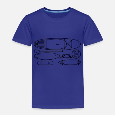 Boards Boards Boards Boards - Toddler Premium T-Shirt