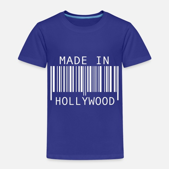 Los Angeles Baby Clothing - Made in Hollywood - Toddler Premium T-Shirt royal blue