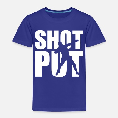 Shot Shot put - Toddler Premium T-Shirt