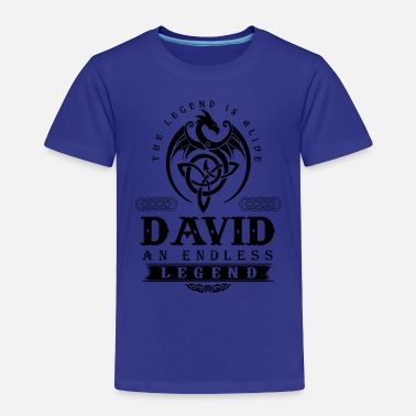 David DAVID - Toddler Premium T-Shirt