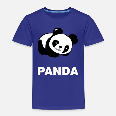 Panda Cute panda bear Panda - Toddler Premium T-Shirt