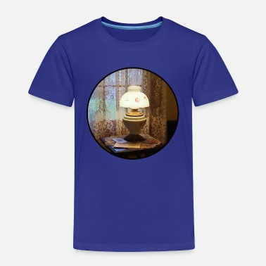 Vintagecontest Lamp in Victorian Parlor - Toddler Premium T-Shirt
