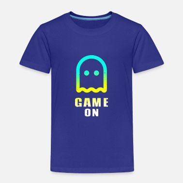 Controller Game ON ghost play gamer nerd level - Toddler Premium T-Shirt