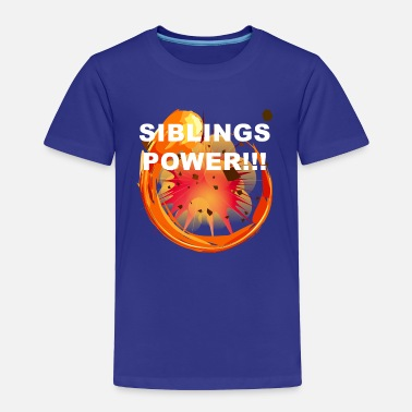 Siblings Sibling Power - Siblings Family explosion - Toddler Premium T-Shirt