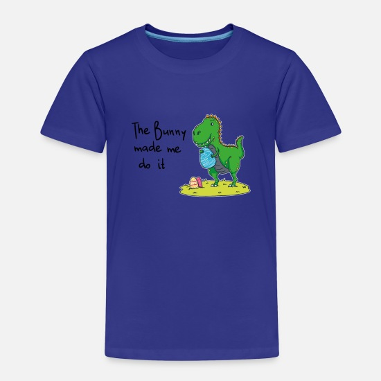 Gift Idea Baby Clothing - T-Shirt for Easter Bunny - Toddler Premium T-Shirt royal blue