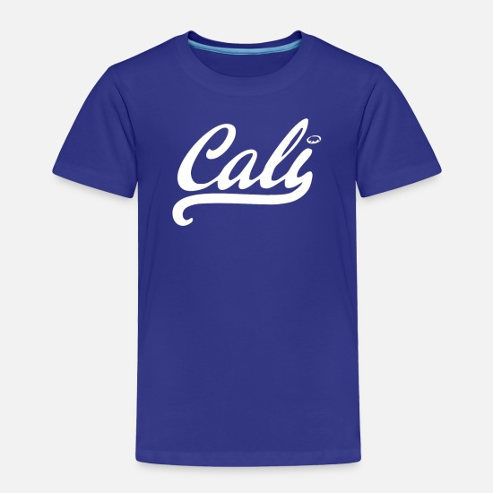 Sheep Baby Clothing - Cali black logo - Toddler Premium T-Shirt royal blue
