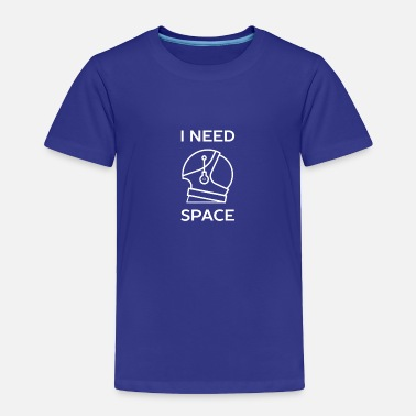 Punks Not Dead I need space introvert pun humor - Toddler Premium T-Shirt