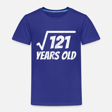 Square square root of 121 shirt - 11 years old - Toddler Premium T-Shirt