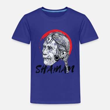 Shaman Witch - Shaman grudge Halloween - Toddler Premium T-Shirt
