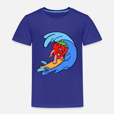 Sporty Sporty Strawberry - Toddler Premium T-Shirt