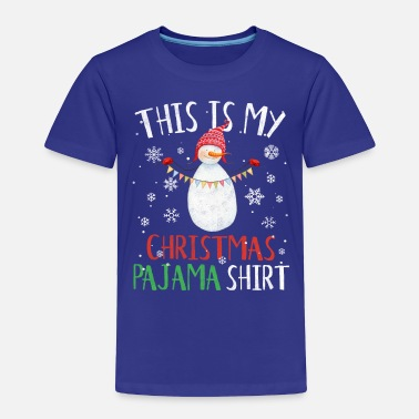 St Nicholas This Is My Christmas Pajama Shirt St Nicholas Gift - Toddler Premium T-Shirt