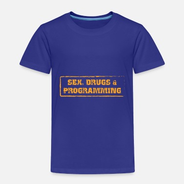 Computer Science Computer Science Programming Computer Nerds - Toddler Premium T-Shirt