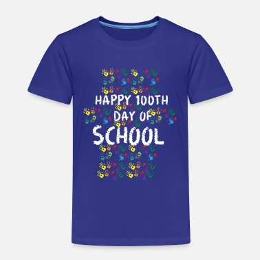 100 Days Of School Happy 100th Day of School for Elementary Students - Toddler Premium T-Shirt