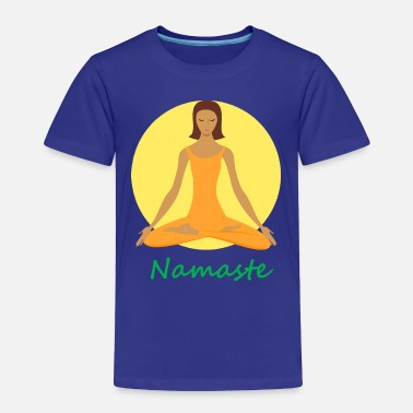 Chant yoga namaste chanting - Toddler Premium T-Shirt