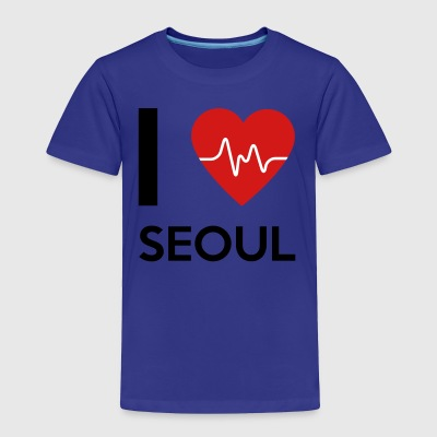 I Love Seoul - Toddler Premium T-Shirt