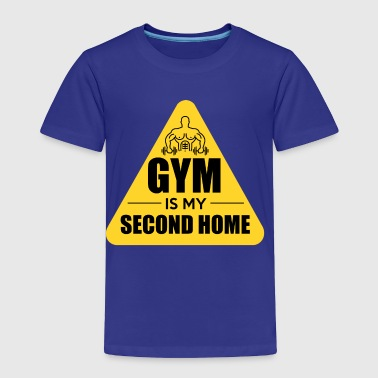 Gym Home Fitness Body Building Gift - Toddler Premium T-Shirt