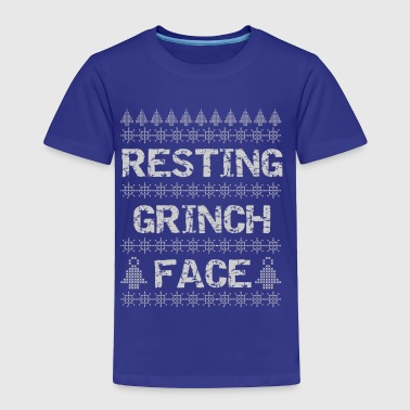Resting Grinch Face - Toddler Premium T-Shirt