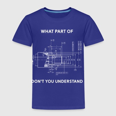 Funny Engineering T-Shirt - Mechanical Engineering - Toddler Premium T-Shirt