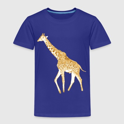 Golden Giraffe - Toddler Premium T-Shirt