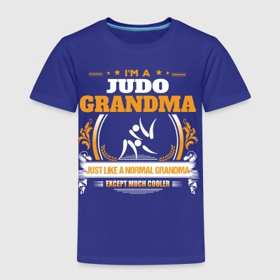 Judo Grandma Shirt Gift Idea - Toddler Premium T-Shirt