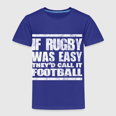 Shirt for rugby player as a gift - Toddler Premium T-Shirt