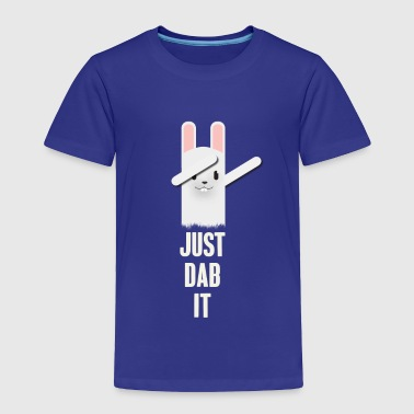 DAB it rabbit dabbing eastern football touch down - Toddler Premium T-Shirt