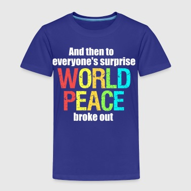 world peace III - Toddler Premium T-Shirt