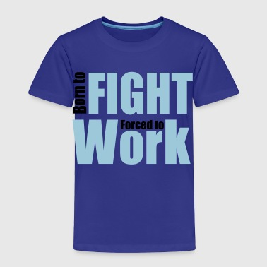 2541614 13192217 fight - Toddler Premium T-Shirt