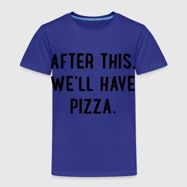 2541614 129782760 pizza - Toddler Premium T-Shirt
