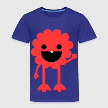 Hairy The Lil' Monster Tee - Toddler Premium T-Shirt
