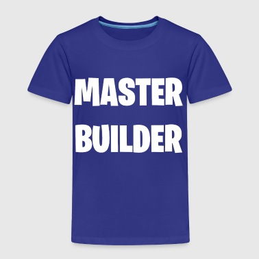 Master Builder Video Game Ninja Gamer Twitch Funny - Toddler Premium T-Shirt