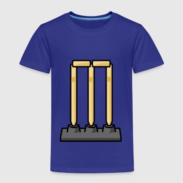 Crickets Wickets - Toddler Premium T-Shirt