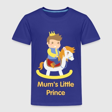 Little Prince cute little prince on rocking toy horse - Toddler Premium T-Shirt