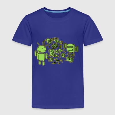 Android Exploded - Toddler Premium T-Shirt