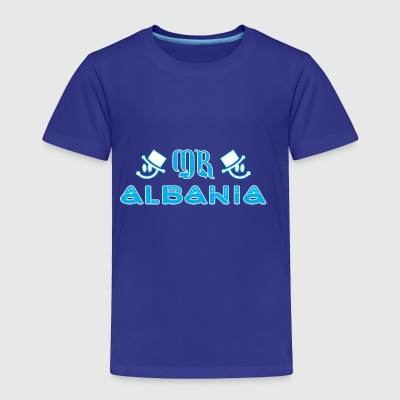Mr Albania - Toddler Premium T-Shirt