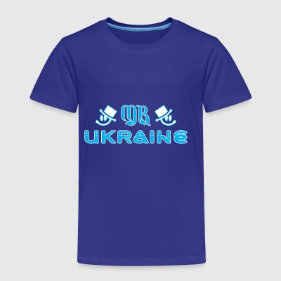 Mr Ukraine - Toddler Premium T-Shirt