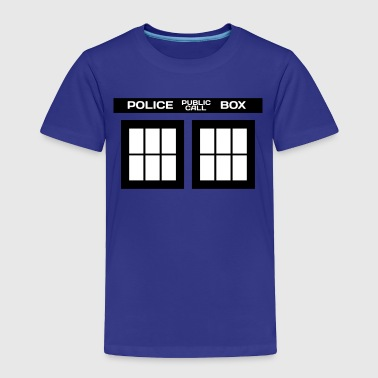 TARDIS PHONE BOOTH - Toddler Premium T-Shirt