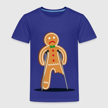 gingerbread man - Toddler Premium T-Shirt