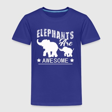 Elephants Tee Shirt - Toddler Premium T-Shirt