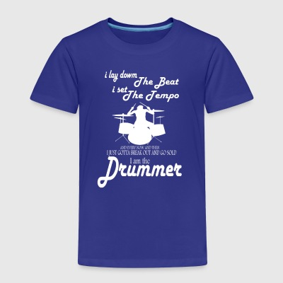 drummer tee shirt - Toddler Premium T-Shirt