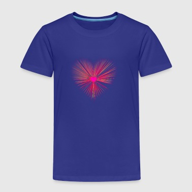 Heart Burst - Toddler Premium T-Shirt