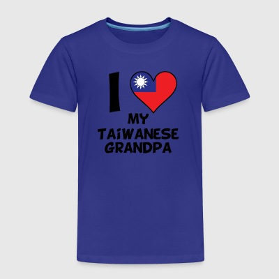 I Heart My Taiwanese Grandpa - Toddler Premium T-Shirt