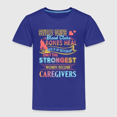 Caregiver Female Shirt - Toddler Premium T-Shirt